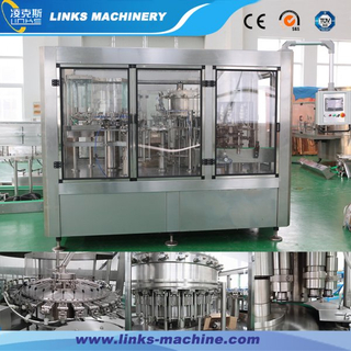 Automatic Sparkling Water Filling Machine-Plastic Bottle